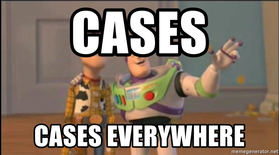 2607348d999 cases cases everywhere - X