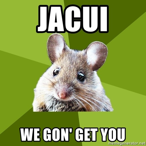 Prospective Museum Professional Mouse - jacui we gon' get you