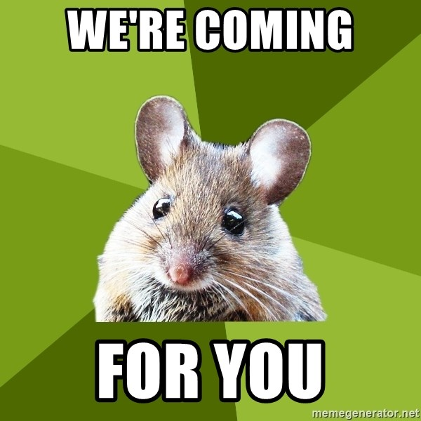 Prospective Museum Professional Mouse - we're coming  for you