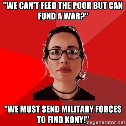 we can t feed the poor but can fund a war we must send military