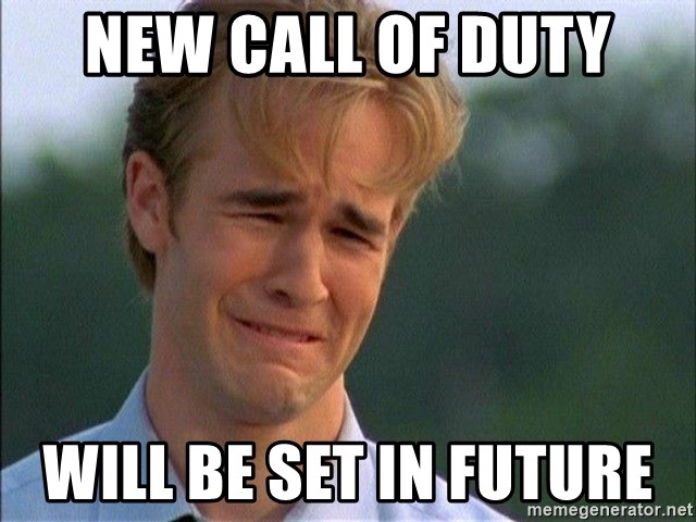 Dawson Crying - New call of duty will be set in future