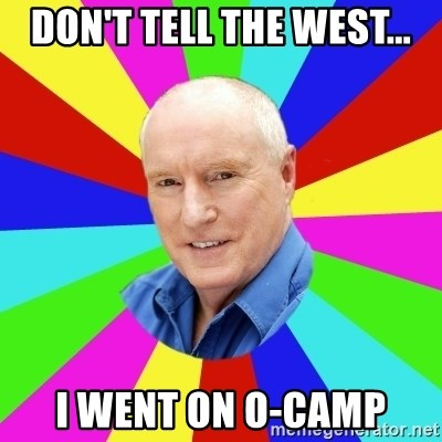 Alf Stewart - Don't tell the west... I went on O-Camp