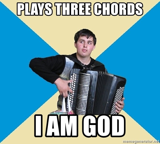 X The Musical Student X - PLAYS THREE CHORDS I AM GOD