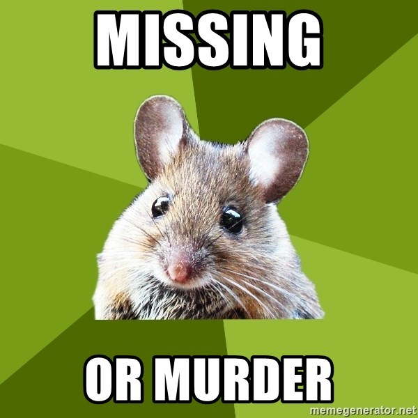 Prospective Museum Professional Mouse - MISSING or murder