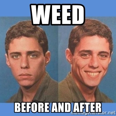 Chico Xavequeiro - weed before and after