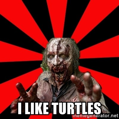 Zombie - I LIKE TURTLES