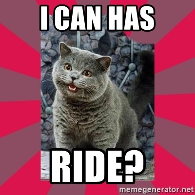 I can haz - I can has Ride?