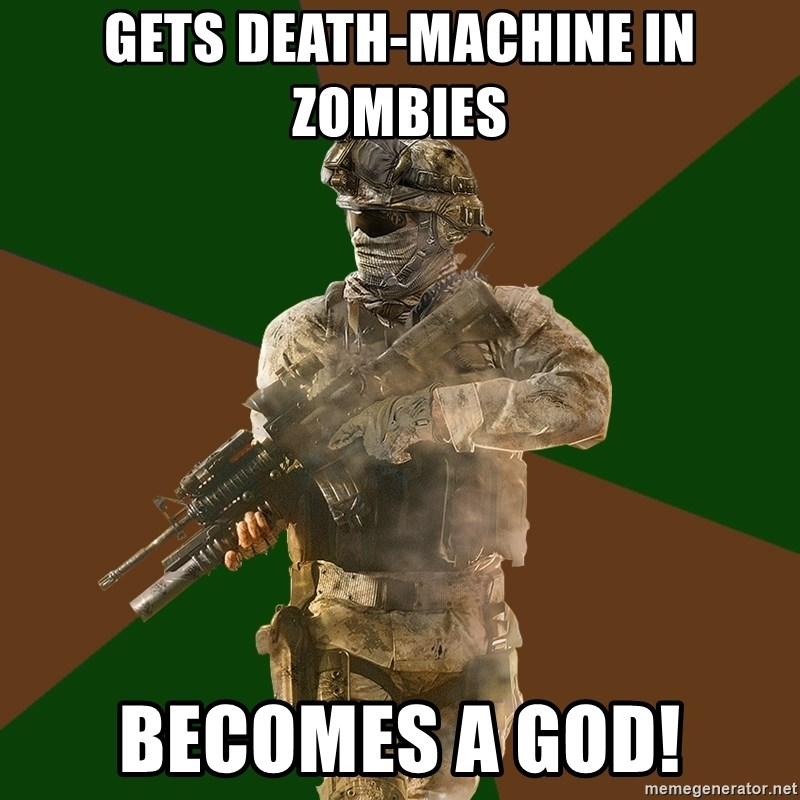Gets Death Machine In Zombies Becomes A God Call Of Duty Addict