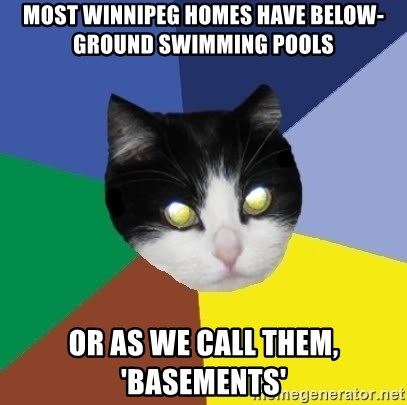 Most Winnipeg homes have below-Ground Swimming pools or as ...