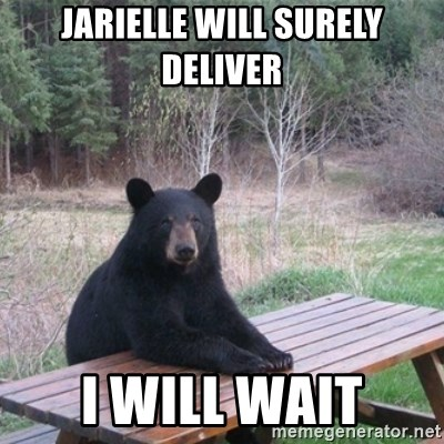 Patient Bear - Jarielle Will surely Deliver I will wait