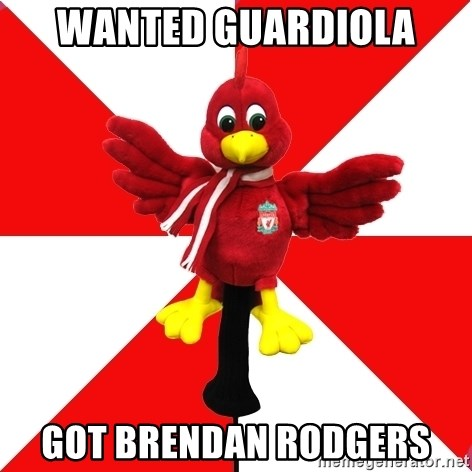 Liverpool Problems - wanted guardiola got brendan rodgers