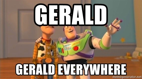 Consequences Toy Story - gerald gerald everywhere