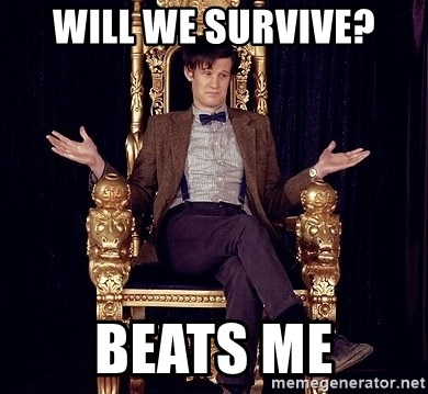 Hipster Doctor Who - will we survive? beats me