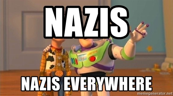 Consequences Toy Story - NaZIS NAZIS EVERYWHERE