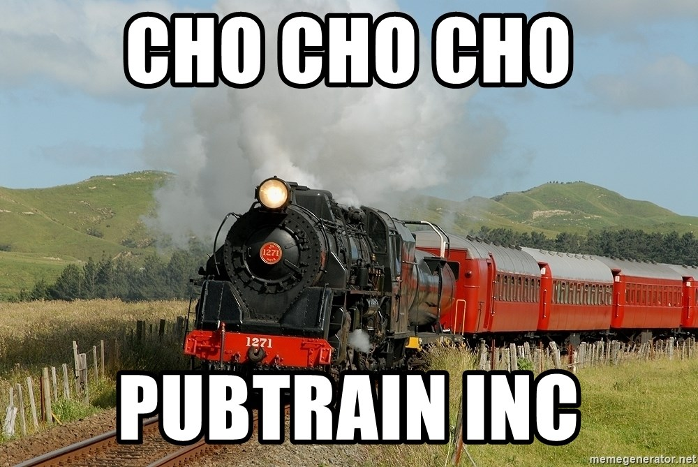 Success Train - CHO CHO CHO pubtrain inc