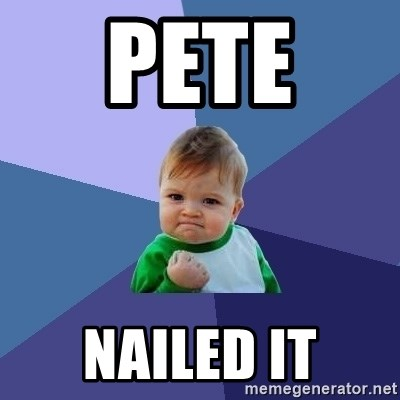 Success Kid - pete  NAILED IT