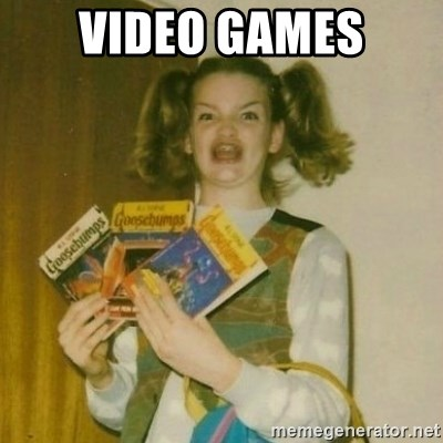 oh mer gerd - VIDEO GAMES