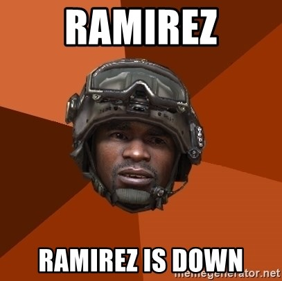 Sgt. Foley - RAMIREZ Ramirez is down