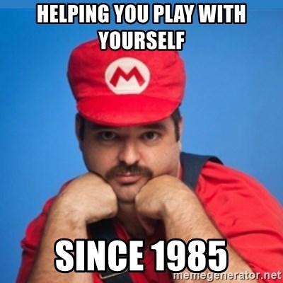 SUPERSEXYMARIO - Helping you play with yourself since 1985