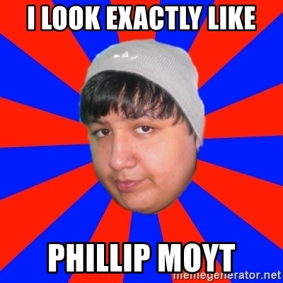 Depressed Ricardo - i look exactly like phillip moyt