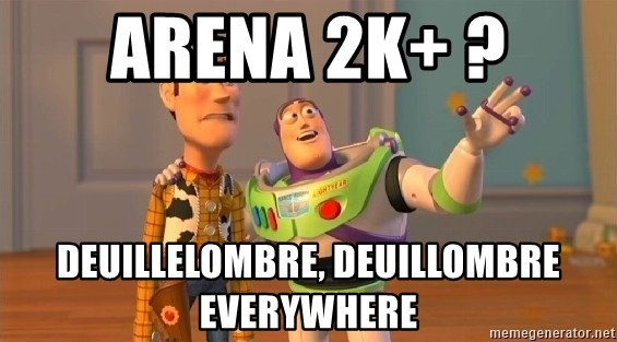 Consequences Toy Story - arena 2k+ ? deuillelombre, deuillombre everywhere