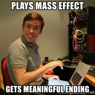Ridiculously Photogenic Journalist - Plays mass effect gets meaningful ending