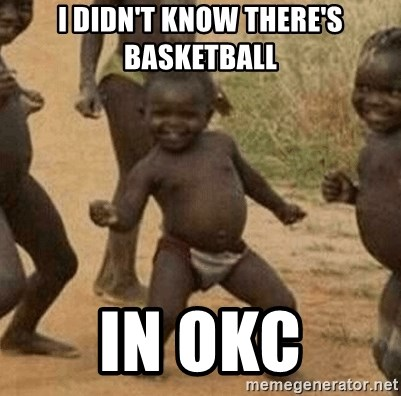 Success African Kid - I DIDN'T KNOW THERE'S BASKETBALL IN OKC