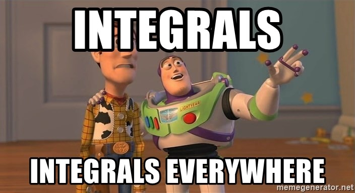 Toy Story Everywhere - Integrals Integrals everywhere