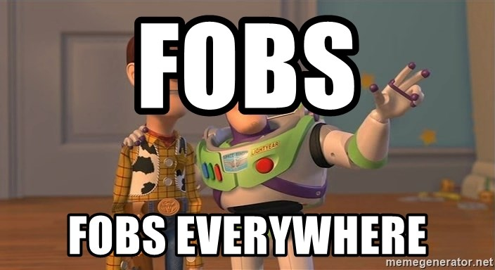 Toy Story Everywhere - Fobs Fobs everywhere