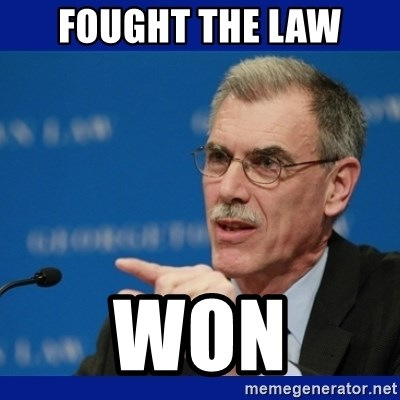 Donald Verrelli - fought the law won