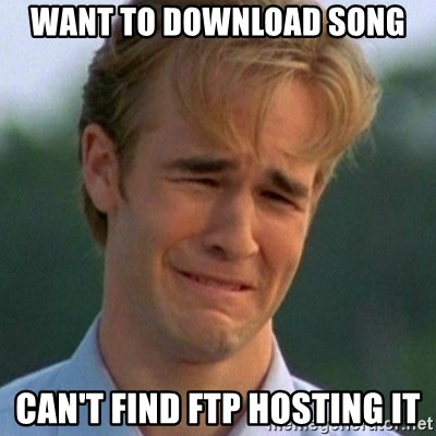 90s Problems - Want to download song Can't finD FTP Hosting it