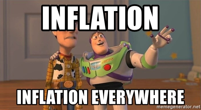 Toy Story Everywhere - INFLATION INFLATION EVERYWHERE