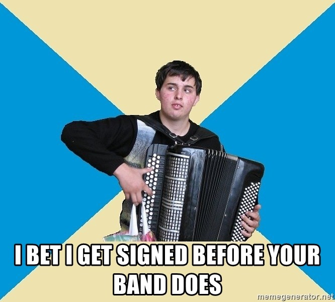 X The Musical Student X - I BET I GET SIGNED BEFORE YOUR BAND DOES