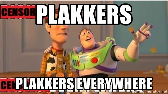 Toy Story Everywhere - PLAKKERS PLAKKERS EVERYWHERE