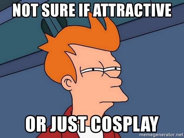 Futurama Fry - Not sure if attractive Or Just cosplay