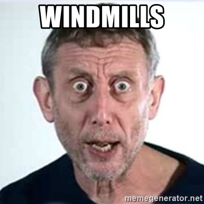 Michael Rosen  - Windmills