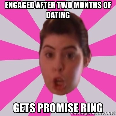 Engaged After Two Months Of Dating