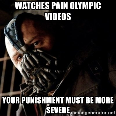 The Pain Olympic Video