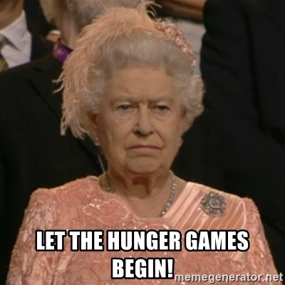 The Olympic Queen - LET THE HUNGER GAMES BEGIN!