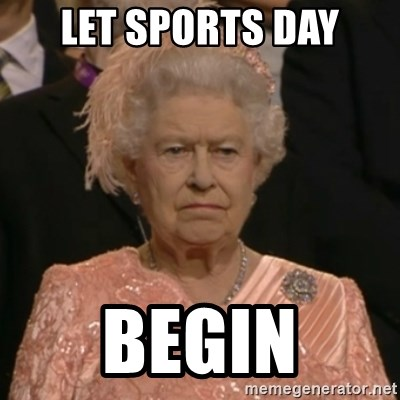 The Olympic Queen - LET SPORTS DAY BEGIN