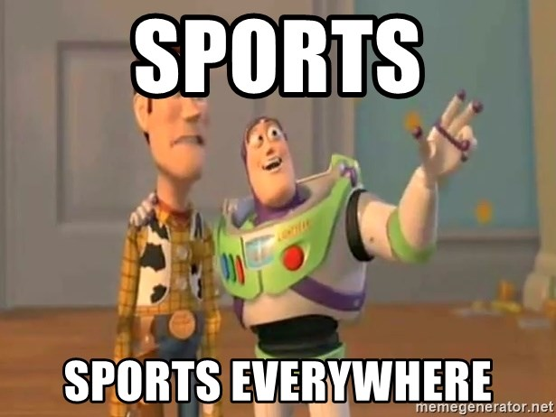 X, X Everywhere  - Sports sports everywhere
