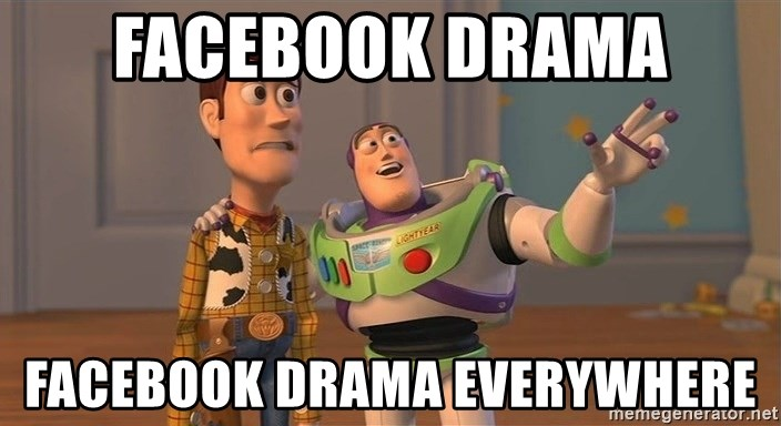 ORIGINAL TOY STORY - Facebook drama facebook drama everywhere