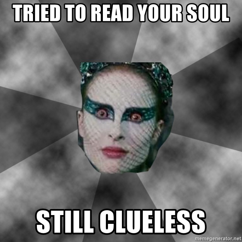 Black Swan Eyes - Tried to read your soul Still clueless