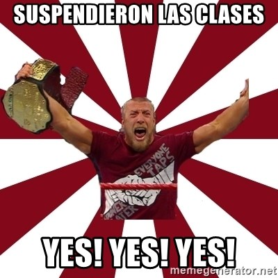 Daniel Bryan - SUSPENDIERON LAS CLASES YES! YES! YES!