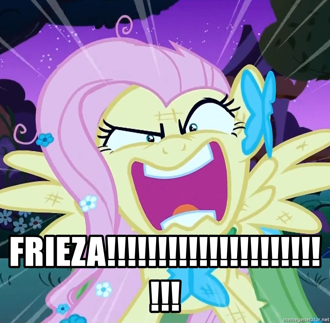angry-fluttershy - FRIEZA!!!!!!!!!!!!!!!!!!!!!!!!