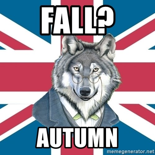 Sir Courage Wolf Esquire - fall? AUTUMN