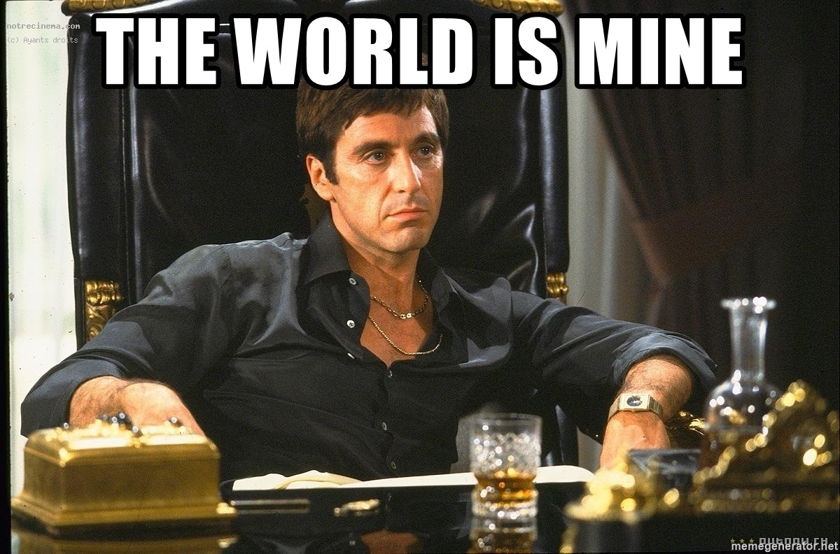 Scarface - the world is mine