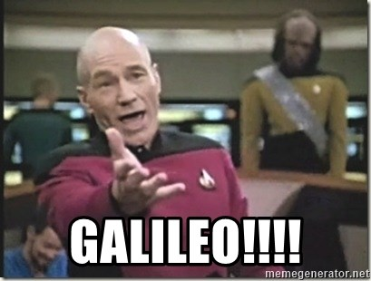 star trek wtf - Galileo!!!!
