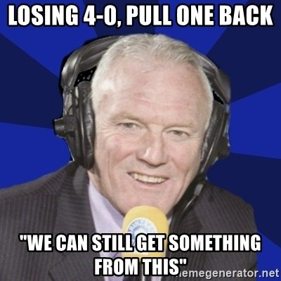 """Optimistic Eddie Gray  - LOSING 4-0, PULL ONE BACK """"WE CAN STILL GET SOMETHING FROM THIS"""""""