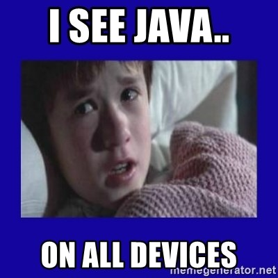 Sexto Sentido - I SEE JAVA.. ON ALL DEVICES